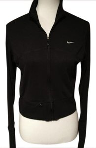 Nike dry fit cropped jacket