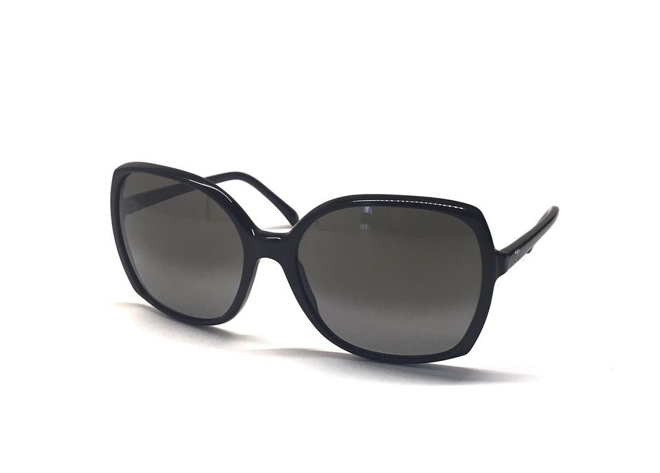 6072f956a4 Chanel CH 5204 501 - BLACK OVERSIZED  CHANEL SUNGLASSES - FREE 3 DAY  SHIPPING Image 0 ...
