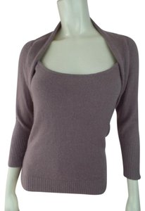 bebe Cashmere 3/4 Sleeves Bolero Soft Sweater