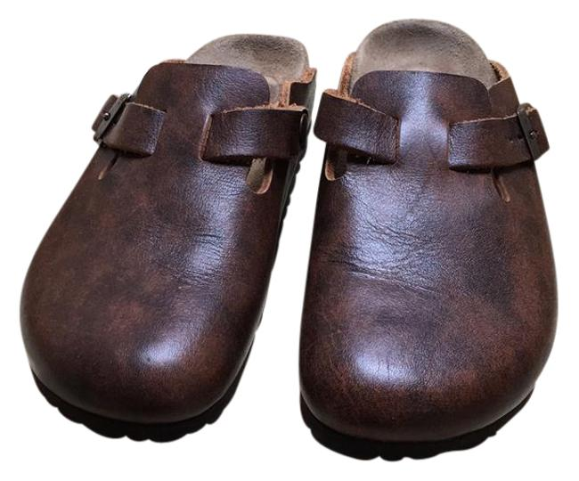 Item - Brown New Papillio Mules/Slides Size US 5 Narrow (Aa, N)