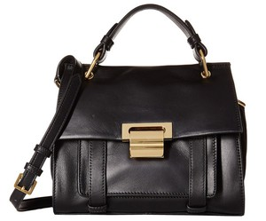 Ivanka Trump It2481 Turnberry Leather Satchel in Black