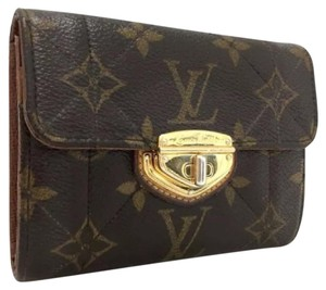 Louis Vuitton Louis Vuitton Monogram Etoile Porte Feiulle Compact Bifold Wallet
