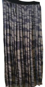 Enza Costa Maxi Skirt Camouflage black