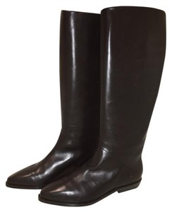 Joan & David Classic Leather Vintage Italian Couture Black Boots