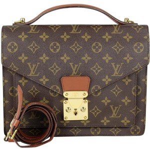 Louis Vuitton Satchel Vintage Handbag Cross Body Bag