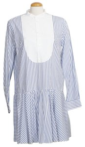 Polo Ralph Lauren short dress White Blue on Tradesy
