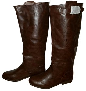 Bamboo Dark brown Boots