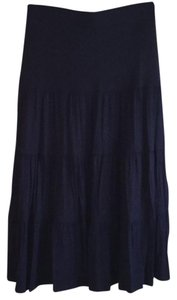 The Territory Ahead Maxi Skirt navy