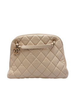 Chanel Leather Satchel in ,Tan