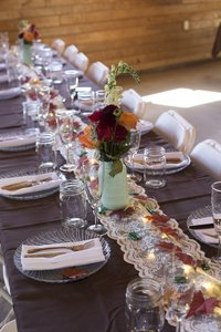 Wedding Linens Direct Ivory Lace Table Runner Tablecloth
