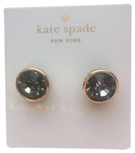 Kate Spade Kate Spade Round Bezel Set Gumdrop Stud Earrings, Brand New