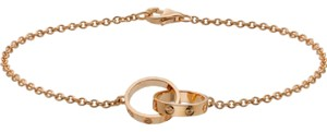 Cartier Cartier LOVE Bracelet 18K Rose Gold Length 6.5 inches