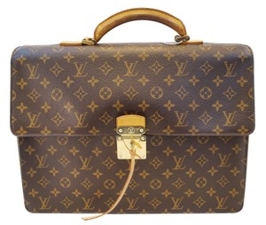 Louis Vuitton Lv Robusto Monogram Brief Case Handbag Satchel