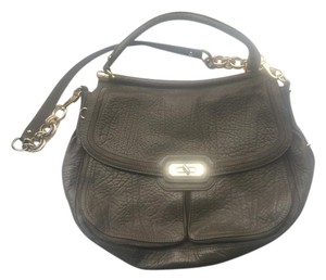 Coach Peppled Satchel in Gray