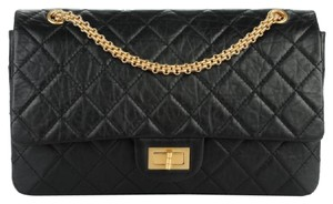 Chanel Resissue Classic 227 Double Shoulder Bag