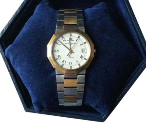 Baume & Mercier 18K Yellow Gold and Stainless Steel Riviera