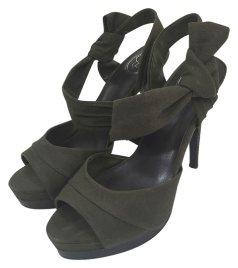 Jessica Simpson Army Green Sandals