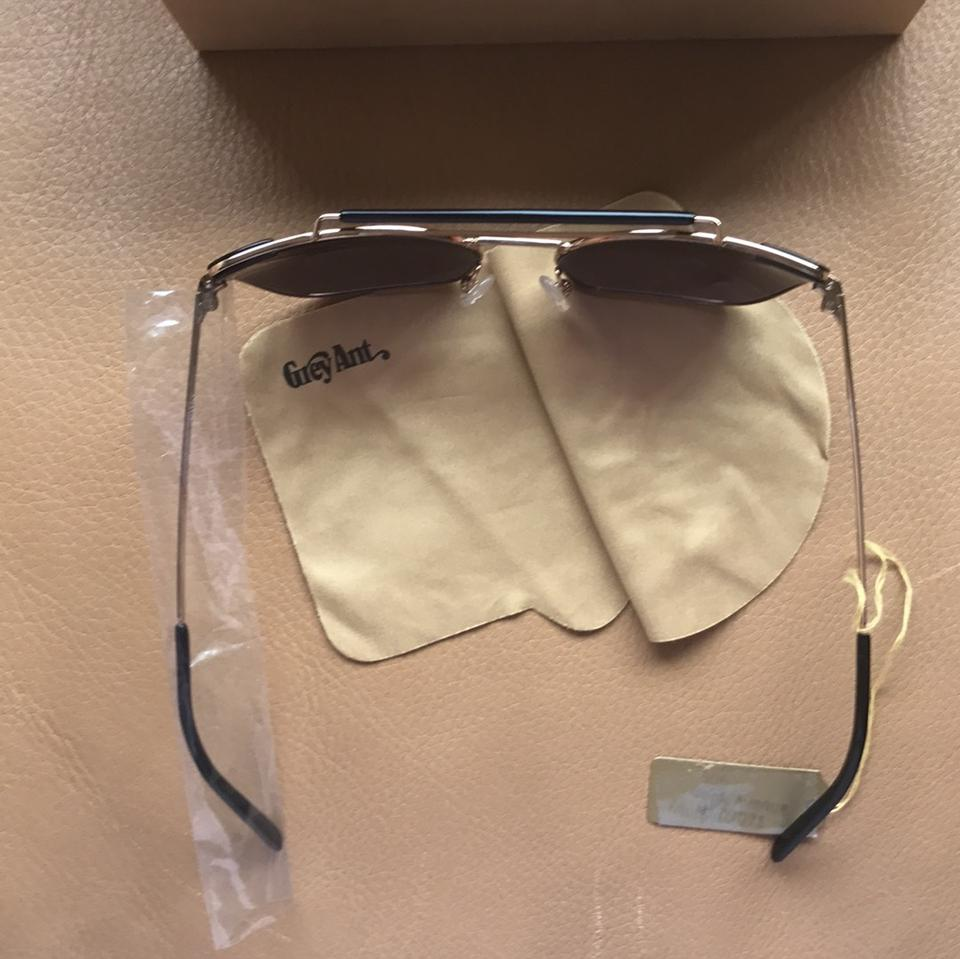 Grey Ant Gold Chat Sunglasses - Tradesy 2a54435af