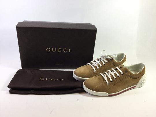 Gucci Men's Sneaker Camel Athletic