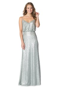 Bari Jay CHAMPAGNE Sequin Style 1624 Dress