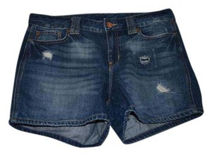 Gap Cuffed Shorts Blue
