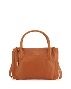 Foley + Corinna Satchel in Honey Brown