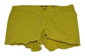 Jessica Simpson Cut Off Shorts Yellow