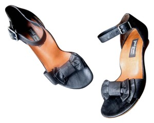 Paul Green High Quality Leather Black Sandals