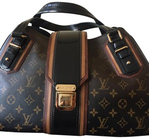 Louis Vuitton Satchel in ombr black