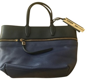 Gianni Chiarini Tote in Black and Navy