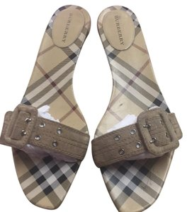 Burberry nude Sandals