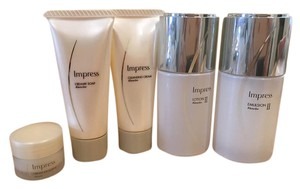 Kanebo Kanebo Impress Lotion+Emulsion+Cleaser+Foam+Cream Excellent Set II