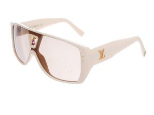 Louis Vuitton Creme acetate Louis Vuitton Bindi aviator sunglasses