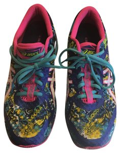 Asics multi / blue / turquoise / pink/ yellow Athletic