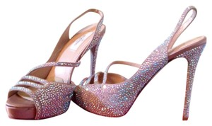 Valentino High Heels Packing New Conditon crystal Formal