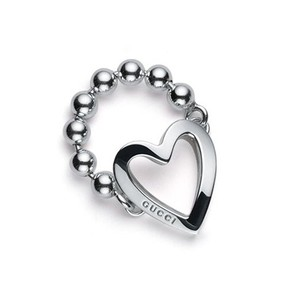 Gucci Gucci Heart Toggle Ring