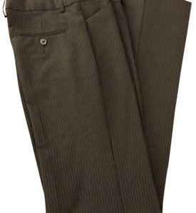 Express Flare Pants Black Pin Stripped