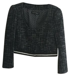 Nanette Lepore black with whitec Blazer