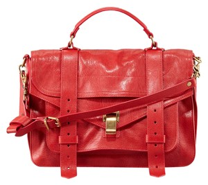 Proenza Schouler Satchel in Red