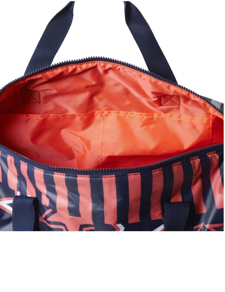 621673d11c70 adidas By Stella McCartney Stellaspor T Large Printed Team Night  Indigo Flash Red Recycled Polyester Plain Weave Weekend Travel Bag