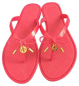 Tory Burch pink, gold Sandals