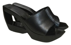 Robert Clergerie Black Mules