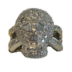 Other skull cz 925 ring