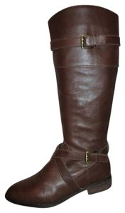 Ann Taylor LOFT Leather Riding Tall brown Boots