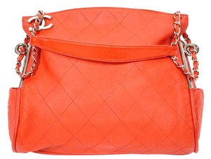 Chanel Quilted Lambskin Leather Ultimate Hobo Bag