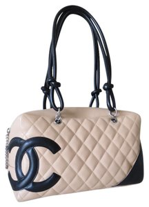 Chanel Cambon Bowling Vuitton Quilted Gift Shoulder Bag