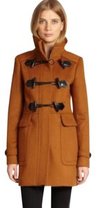 Burberry Duffle Duffle Wool Brit Pea Coat