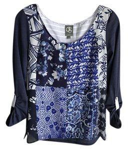 one.september Anthropologie Top Blue
