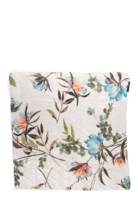 Gucci Cotton Floral Print Scarf