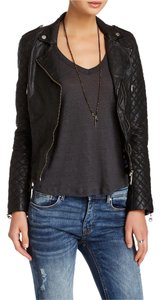 DOMA Biker All Saints Leather Motorcycle Free People Motorcycle Jacket
